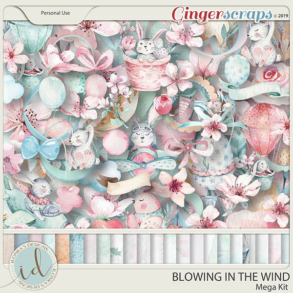 Blowing In The Wind Mega Kit by Ilonka's Designs