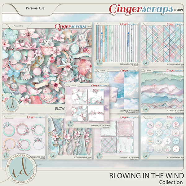 Blowing In The Wind Collection by Ilonka's Designs
