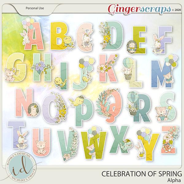 Celebration Of Spring Alpha by Ilonka's Designs