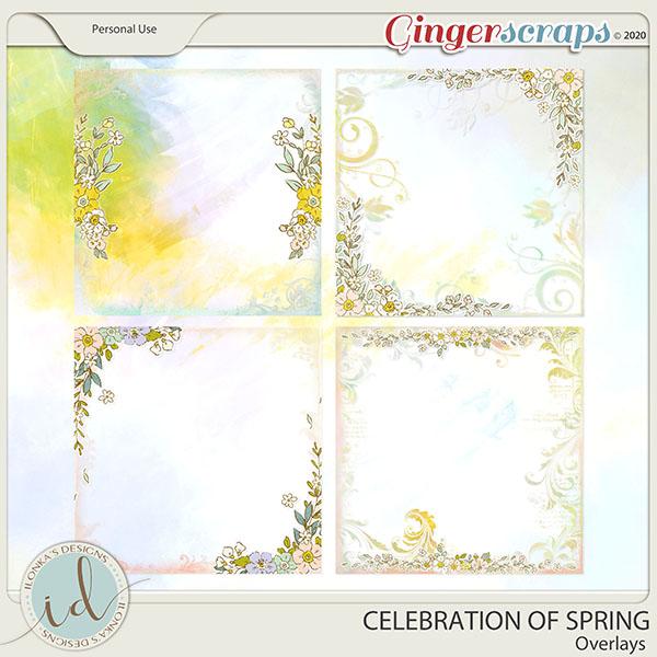 Celebration Of Spring Overlays by Ilonka's Designs