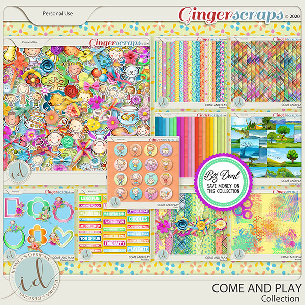 Come And Play Collection by Ilonka's Designs