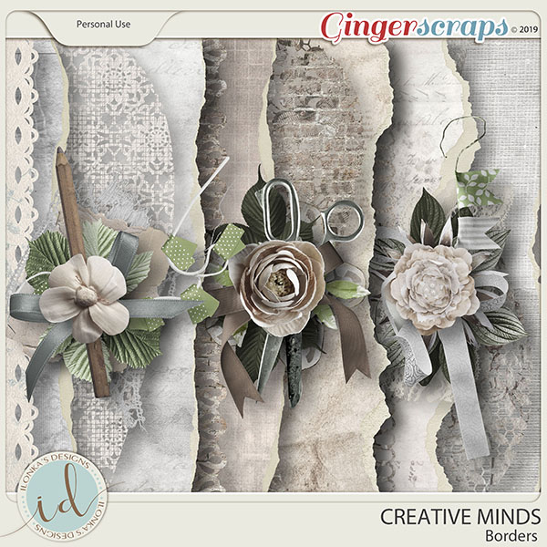 Creative Minds Borders by Ilonka's Designs
