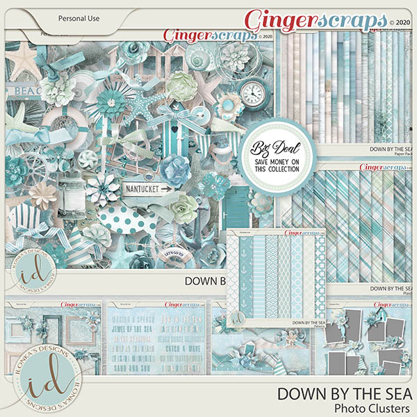 Down By The Sea Collection by Ilonka's Designs