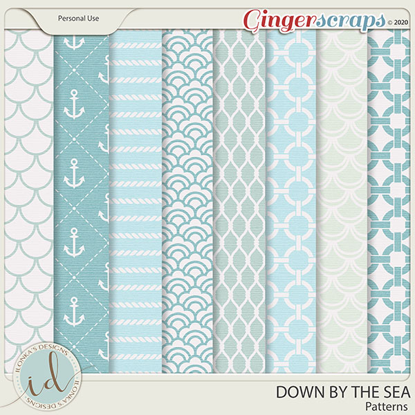 Down By The Sea Patterns by Ilonka's Designs