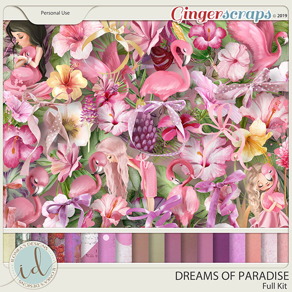 Dreams Of Paradise Full Kit by Ilonka's Designs
