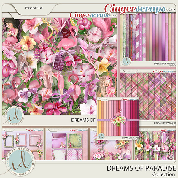 Dreams Of Paradise Collection by Ilonka's Designs