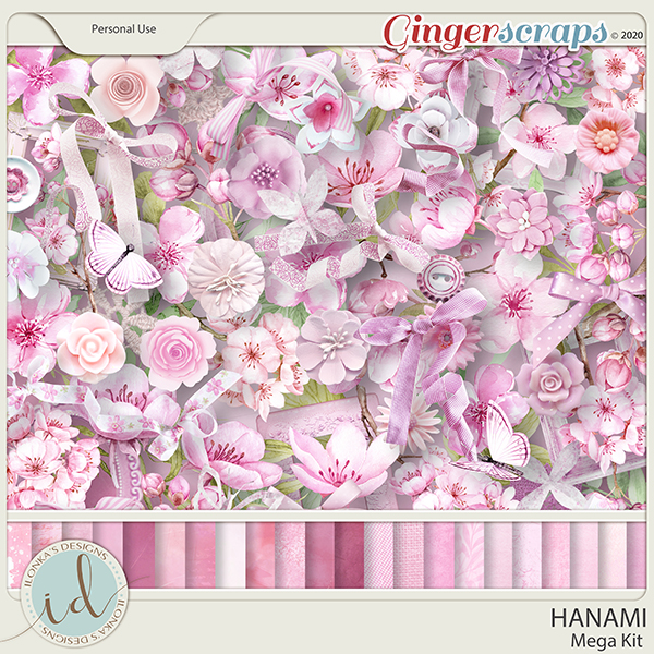 Hanami Mega Kit by Ilonka's Designs