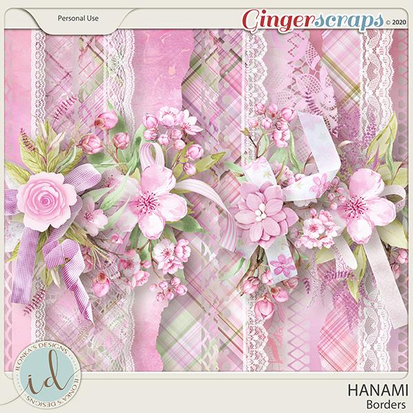 Hanami Borders by Ilonka's Designs
