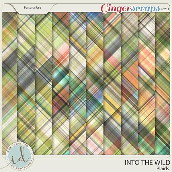 Into The Wild Plaids by Ilonka's Designs