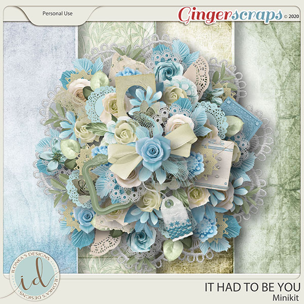 It Had To Be You Minikit by Ilonka's Designs