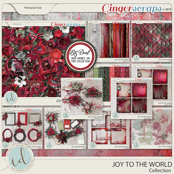 Joy To The World Collection by Ilonka's Designs