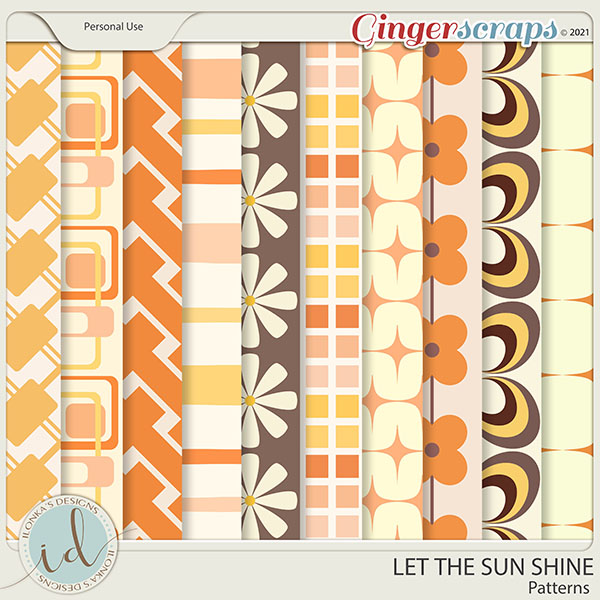 Let The Sun Shine Patterns by Ilonka's Designs
