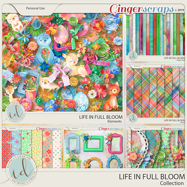 Life In Full Bloom Collection by Ilonka's Designs