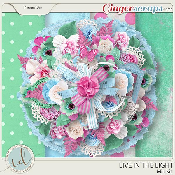 Live In The Light Minikit by Ilonka's Designs