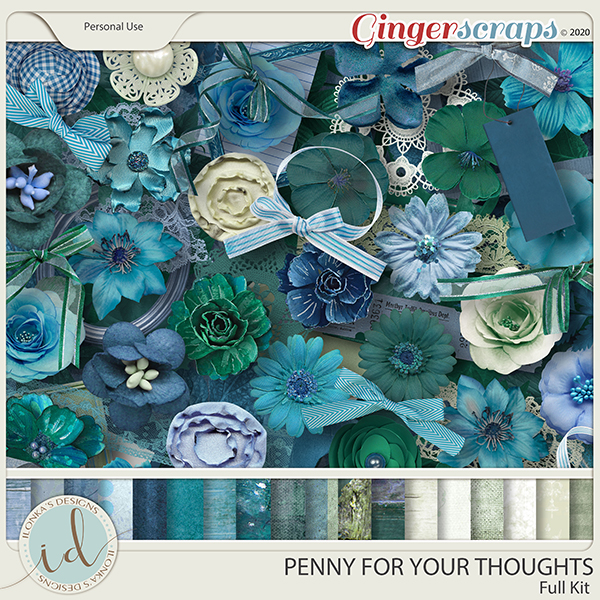 Penny For Your Thoughts Full Kit by Ilonka's Designs