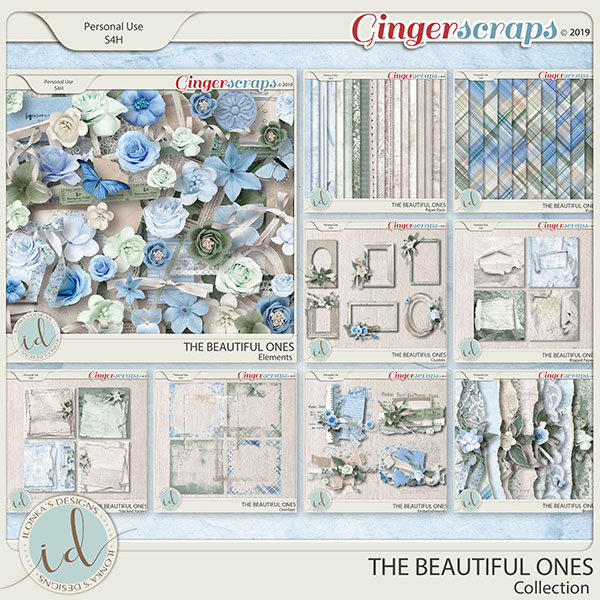 The Beautiful Ones Collection by Ilonka's Designs