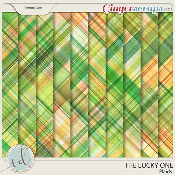 The Lucky One Plaids by Ilonka's Designs