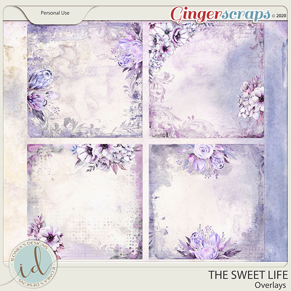 The Sweet Life Overlays by Ilonka's Designs