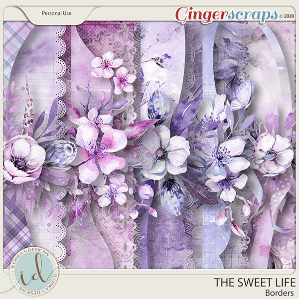 The Sweet Life Borders by Ilonka's Designs