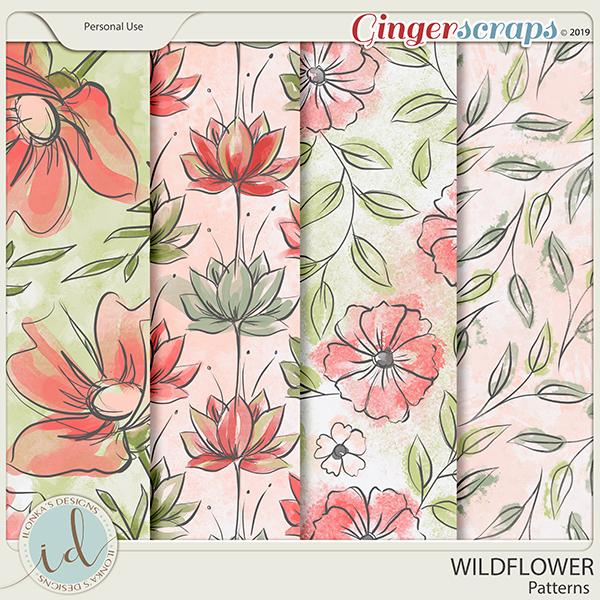 Wildflower Patterns by Ilonka's Designs