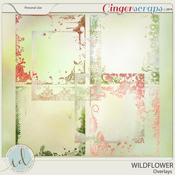 Wildflower Overlays by Ilonka's Designs