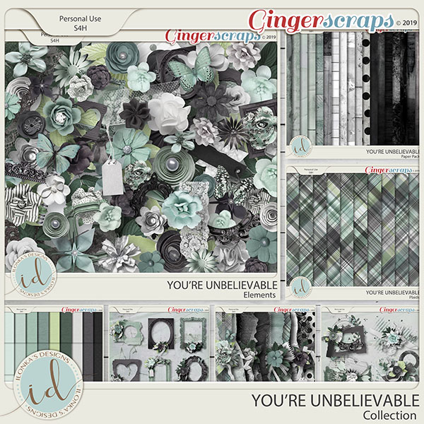 You're Unbelievable Collection by Ilonka's Designs