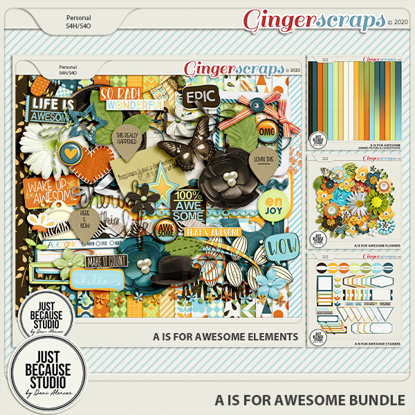 A Is For Awesome Bundle by JB Studio
