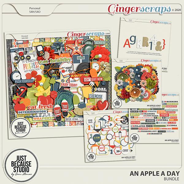 An Apple A Day Bundle by JB Studio