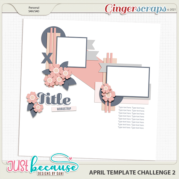 April 2021 Template Challenge 2 by JB Studio