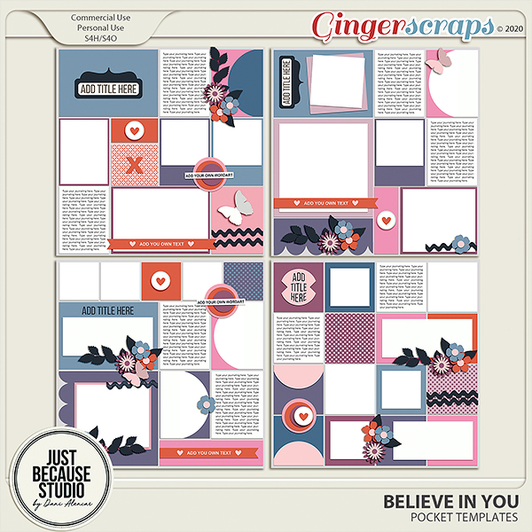 Believe In You Templates by JB Studio