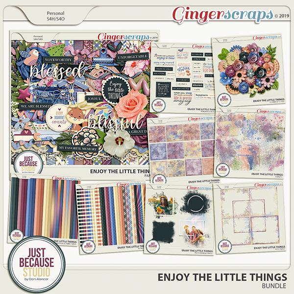 Enjoy The Little Things Bundle by JB Studio