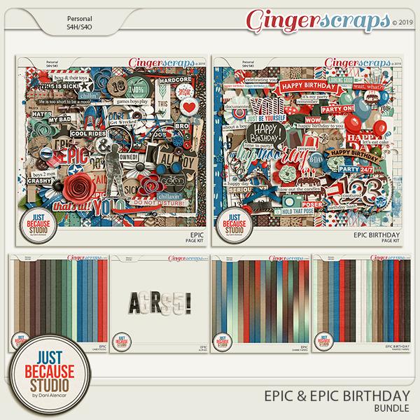 Epic Birthday Bundle by JB Studio
