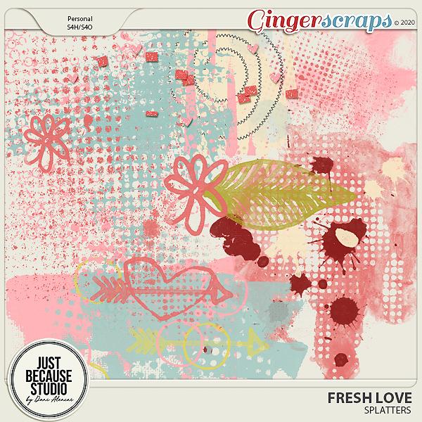 Fresh Love Splatters by JB Studio