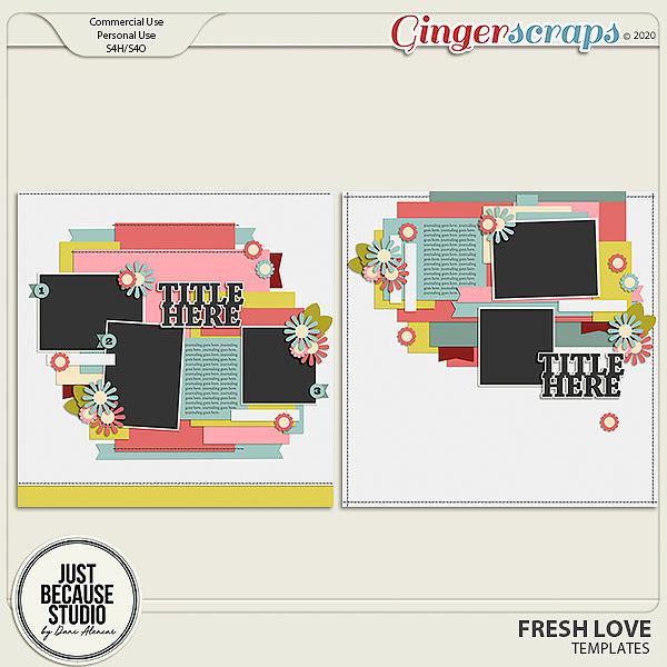 Fresh Love Templates by JB Studio