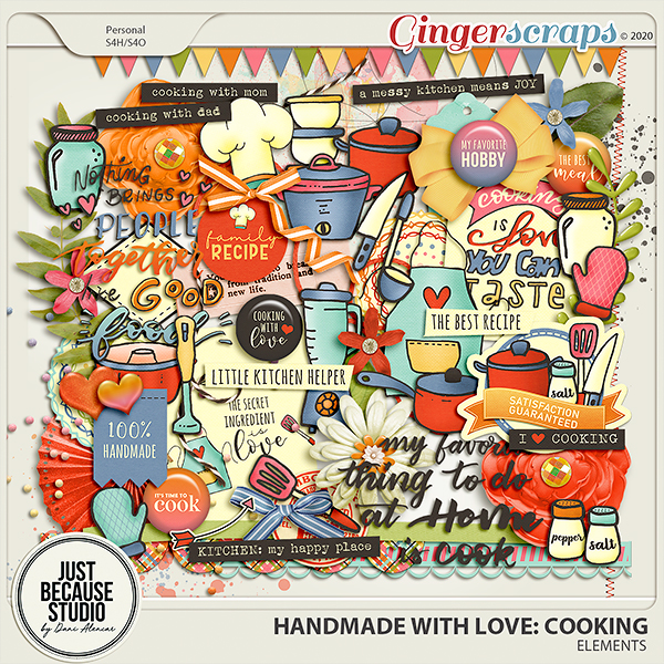 Homemade With Love: Cooking Elements by JB Studio