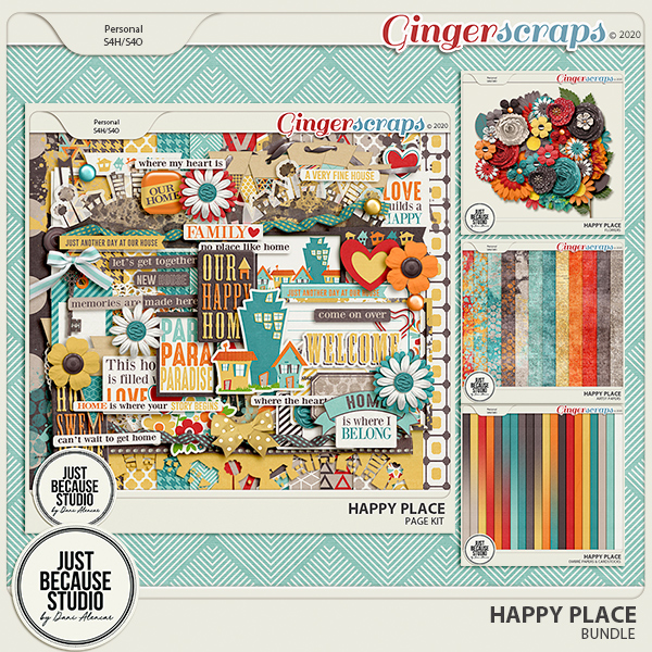Happy Place Bundle by JB Studio