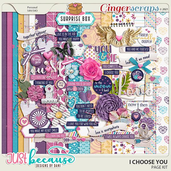 I Choose You Page Kit by JB Studio