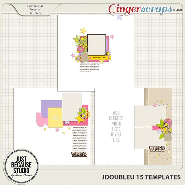 JDoubleU 15 Templates by JB Studio