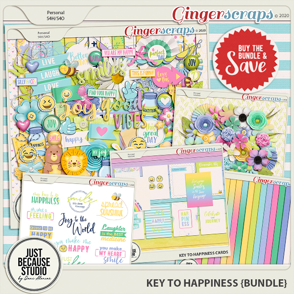 Key to Happiness Bundle by JB Studio