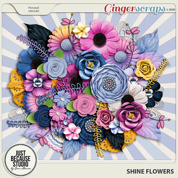 Shine Flowers by JB Studio