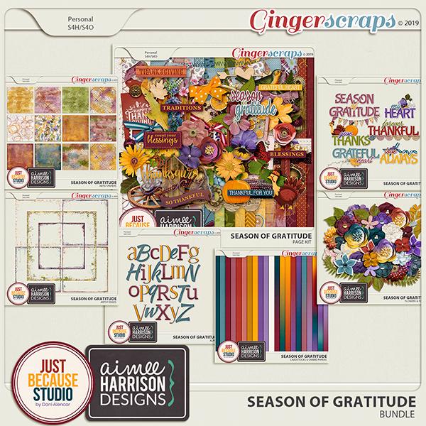 Season Of Gratitude Bundle by JB Studio & Aimee Harrison Designs