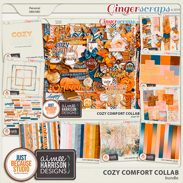 Cozy Comfort Bundle by JB Studio and Aimee Harrison Designs