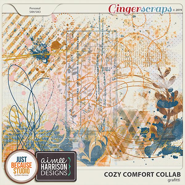 Cozy Comfort Grafitti by JB Studio and Aimee Harrison Designs