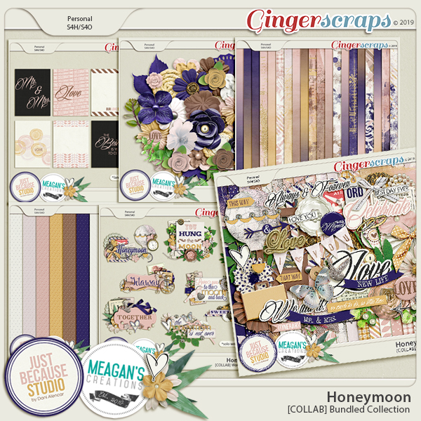 Honeymoon Bundled Collection by JB Studio and Meagan's Creations