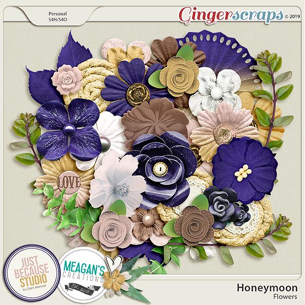 Honeymoon Flowers by JB Studio and Meagan's Creations