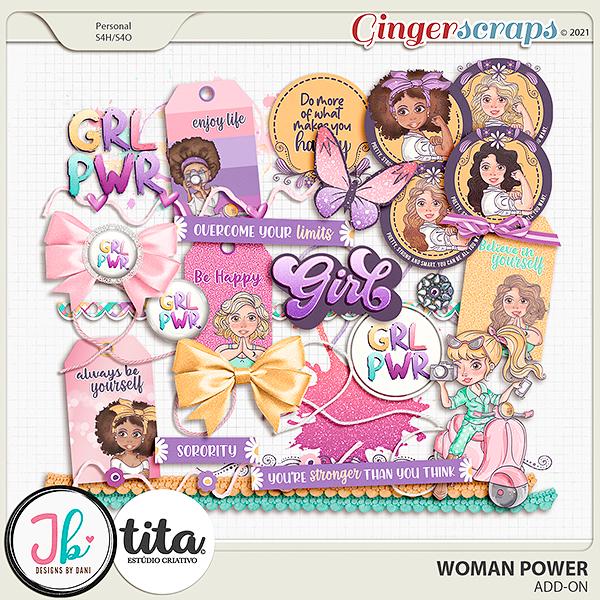Woman Power Add-on by JB Studio and Tita