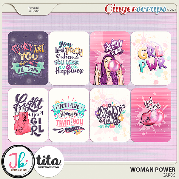 Woman Power Cards by JB Studio and Tita