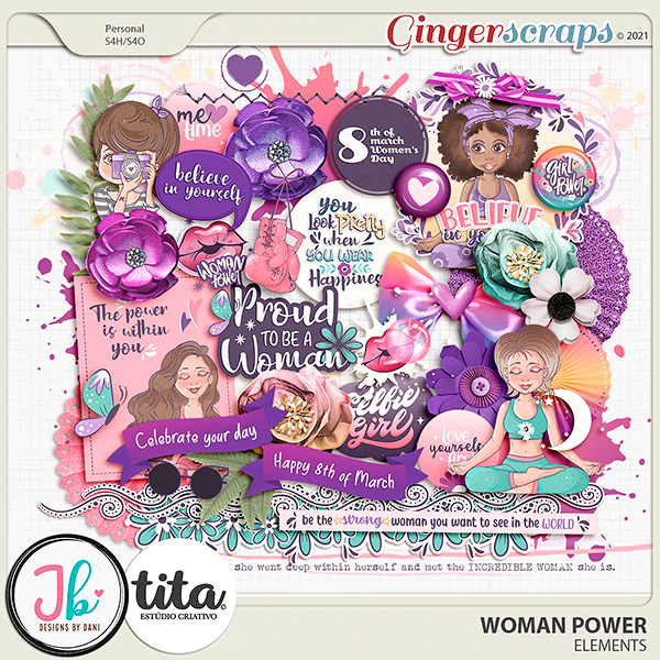 Woman Power Elements by JB Studio and Tita