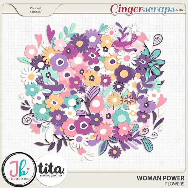 Woman Power Flowers by JB Studio and Tita