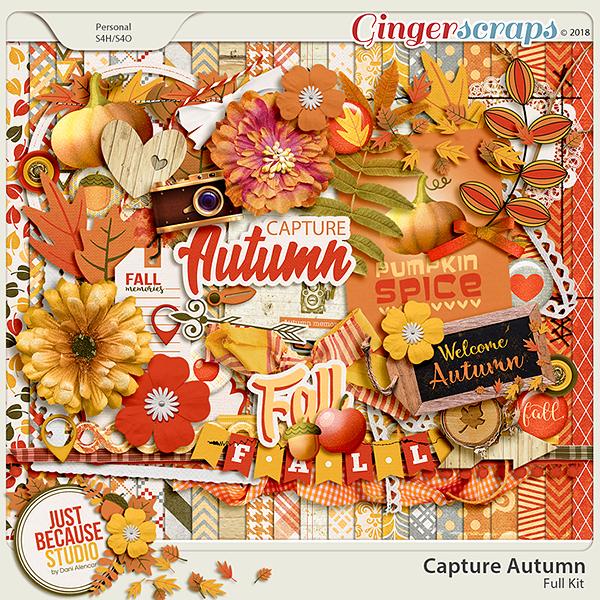 Capture Autumn Digital Kit by JB Studio